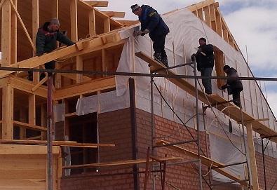 Монтаж фасада в Ханы-Мансийске