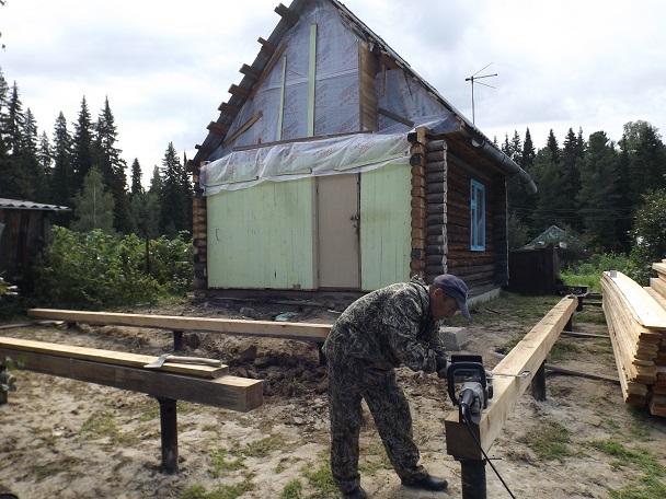 Строительство дачи в Ханты-Мансийске