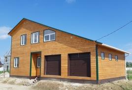 2017 Красивый двухэтажный большой дом 174 кв.м. с двумя гаражами 3 132 000